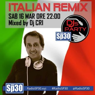 #djsparty - ITALIAN REMIX-1 Mixed By Dj CRI