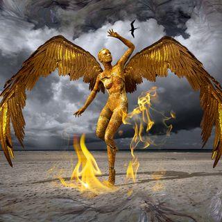 Archangel Nathaniel Frees the Phoenix
