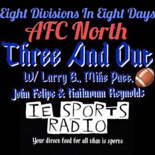 Three And Out- Eight Divisions In Eight Days: AFC North