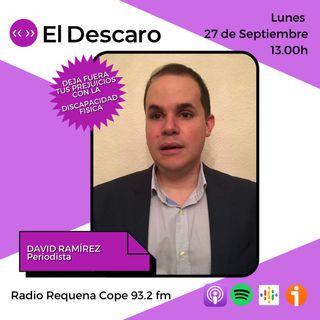 3x4 - Deja fuera tus prejuicios con la discapacidad física - David Ramírez (Periodista)