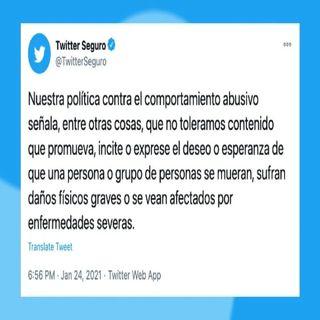 Twitter lanza políticas contra comportamiento abusivo