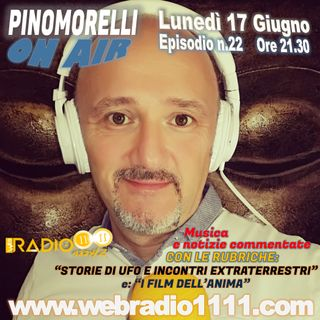 """Pino Morelli On Air"" puntata n.22"