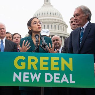 "Podcast 28:  Alexandria Ocasio-Cortez and the ""Green New Deal"""