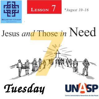Sabbath School Aug-13 Tuesday