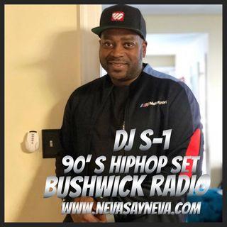 Dj S-1 90's Brooklyn MLK Mix on Bushwick Radio 2021