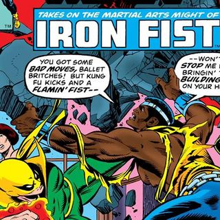 Source Material #112 - BONUS - When Iron Fist met Power Man (Power Man #48)