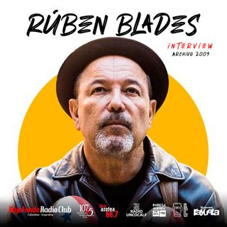 Entrevista con Rubén Blades en Bajo Fondo Radio Club