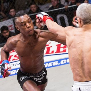 "Dominique ""The Black Panther"" Wooding Interview, Bellator MMA Prospect who traded soccer kicks for head kicks"