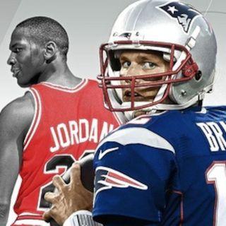 Michael Jordan & Tom Brady