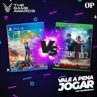 #06 - Vale a pena jogar RE2 REMAKE ou THE OUTER WORLDS? (Especial The Game Awards 2019) 2/3