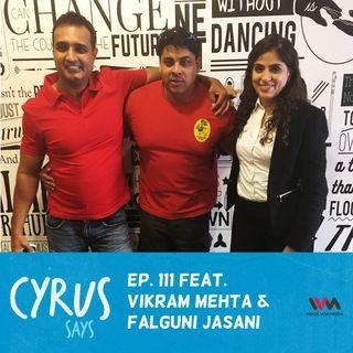 Ep. 111 feat.  Biking Enthusiasts Vikram Mehta and Falguni Jasani