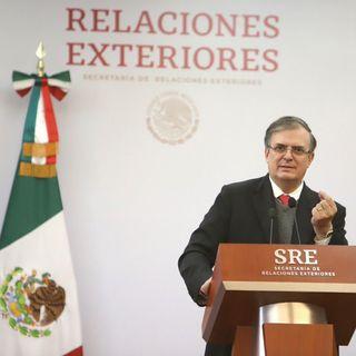SRE asegura que expulsión de embajadora fue represalia