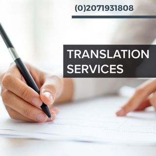 Language Translation Services in UK