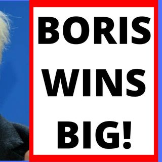 BORIS JOHNSON WINS MAJORITY IN BRITISH ELECTION