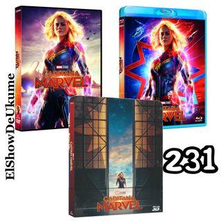 Capitana Marvel en DVD | ElShowDeUkume 231
