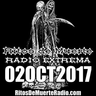 Ritos De Muerte Radio Show 02OCT2017