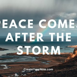 1928 Peace Comes After the Storm