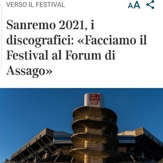 Episodio 23 - il festival di Sanremo2021 fuori da sanremo...ahahahhahah