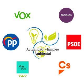Análisis de la parte verde de los programas electorales para el 10N | Actualidad y Empleo Ambiental #29