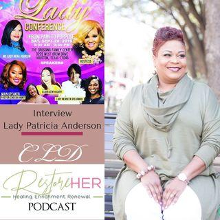RestoreHER Podcast Patricia Anderson