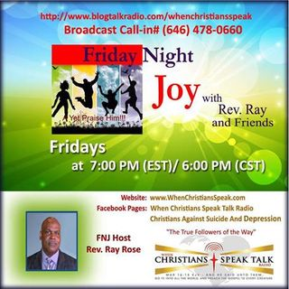 Friday Night Joy with Rev. Ray: Don't Fret The Giants In Your Life! REPLAY