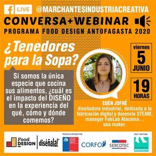 ¿Tenedores para la sopa? | Food Design DISÉÑALA #03