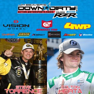 #391 - Steve Torrence & Colton Herta On Air!