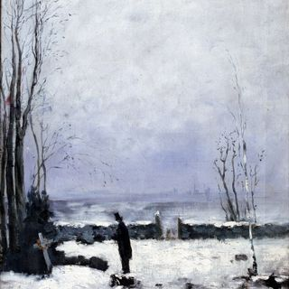 Notte d'Inverno - Giosuè Carducci
