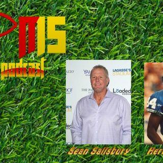 Sean Salisbury, Herman Moore (Chiefs vs. Lions)