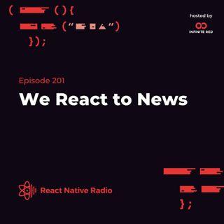 RNR 201 - We React to News