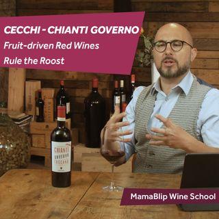 Sangiovese | Cecchi Chianti Governo all'Uso Toscano | Wine tasting with Filippo Bartolotta