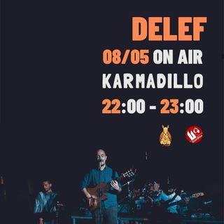 Delef: gruppo folk-tropicale nato col cuore a metà tra Brasile e Comacchio - Karmadillo - s02e28