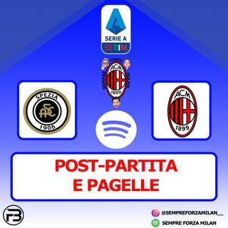 SPEZIA-MILAN 2-0   PAGELLE e Post Partita