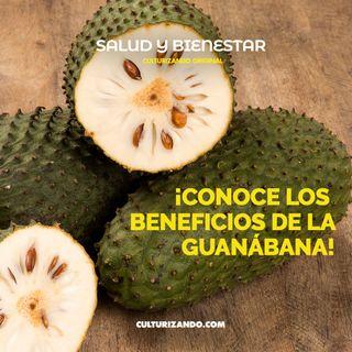 ¡Conoce los beneficios de la guanábana! • Salud y Bienestar - Culturizando