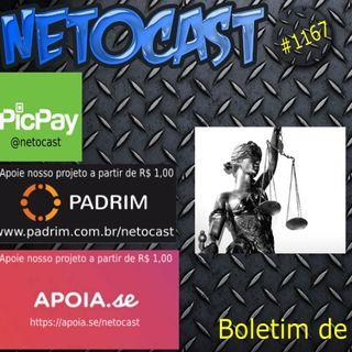 NETOCAST 1167 DE 12/07/019 - BOLETIM DE DIREITO