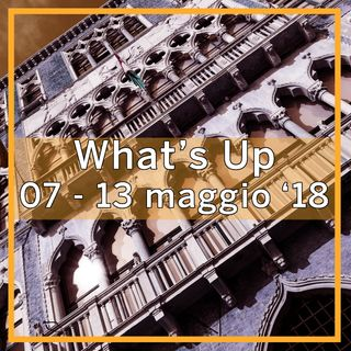 What's Up: 7-13 maggio 2018