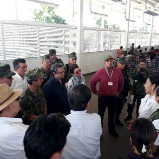 El gobierno busca mejorar condiciones de la frontera sur