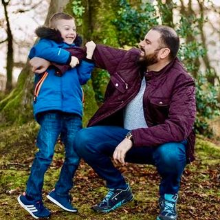 Dad to Dad 81 - Jude Morrow Of Derry, Northern Ireland, Is A Father With Asperger's Syndrome.