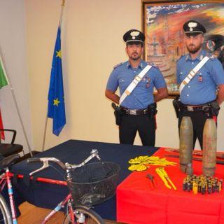 Residuati bellici, un appello dei carabinieri alla responsabilità dopo l'arresto di Thiene
