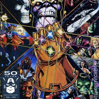 "Source Material #003 - RE-AIR 10/06/2014 - ""Infinity Gauntlet"" (Marvel) (1991)"