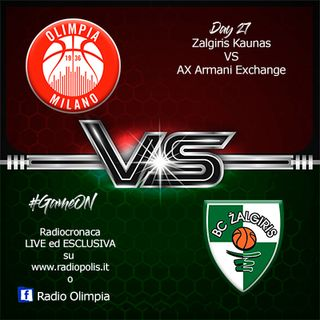 Zalgiris Kaunas vs AX Armani Exchange