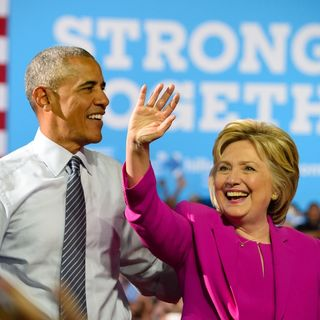 Hillary And Obama Went Up The Hill, They Both Came Down In Handcuffs