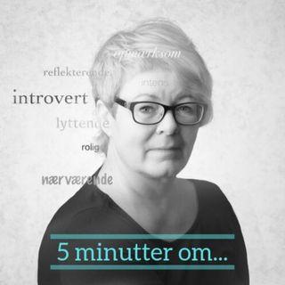 5 minutter om social angst eller introvert?