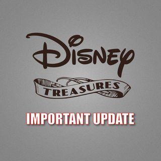 Disney Treasures Has Ended