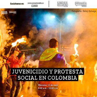 Juvenicido y protesta social en Colombia