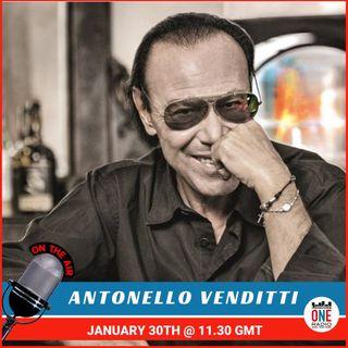 Antonello Venditti in anteprima su L1R, ci parla della sua tappa a Londra l'8 marzo 2020
