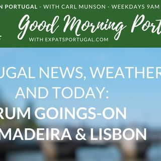 Rum goings-on in Madeira & Lisbon on Good Morning Portugal!
