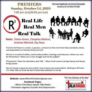 R3 REAL LIFE; REAL MEN; AND REAL TALK :  Episode 2