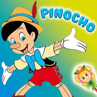 42. Cuento de Pinocho en español y en inglés. Cuento clásico  para niños, para aprender y dormir. Hada de fresa