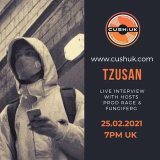 The Cush:UK Takeover Show - EP.138 - Prod Rage, fungiFerg & Tzusan